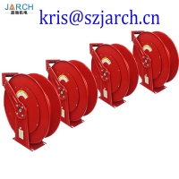 Steel retractable wall mount garden water hose reel manufacturer cable reel Manufactures