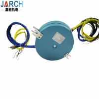 JARCH 18 Circuits 25mm Thickness Through No Hole Flat Slip Ring for Rotary Table Manufactures