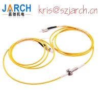 Single Channel Fiber Optic Rotary Joint 1310~1550nm For Video Surveillance Systems Manufactures
