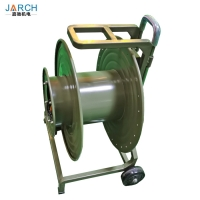 Portable Armored Military Tactical Fiber Optic Cable Extension Cord Reel With Wheel Manufactures