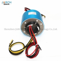 JARCH 10 poles rotary joint wind turbine slip ring for Control and data transmission Manufactures