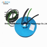 Top design pancake slip ring ultra thin flat slip ring Manufactures