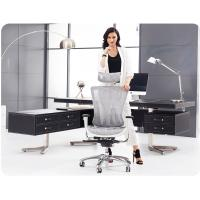 Gray Color Ergonomic Conference Chair With Multi Function Explosion Chassis Manufactures