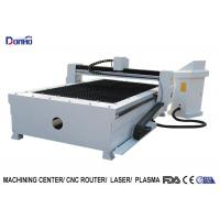 Huayuan Power Supply CNC Plasma Metal Cutting Machine With Table 1500mm * 3000mm Manufactures