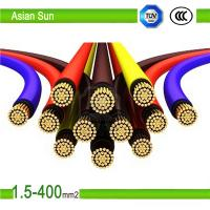 (ACSR) Aluminum Conductors Steel Reinforced 2 core power cable 4*4mm2 Manufactures