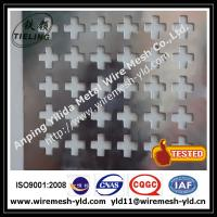 cross hole perforated metal sheet,metal wire mesh for decoration Manufactures