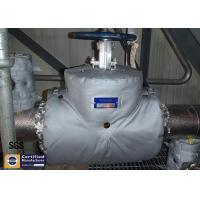 High Performance Removable Fiberglass Insulation Jacket Flange Valve Protect Cover Manufactures