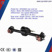 cq motor quality warrantee factory supply electric rickshaw/tricycle/car rear wheel axle Manufactures