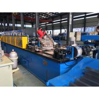 Hydraulic or Manual C Purlin Roll Forming Machine Drive by Chain High efficiency Manufactures