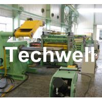 2 - 8mm Metal Cut To Length Line With Uncoiler, Leveling, Cut To Length, Auto Stacker Manufactures