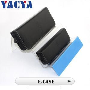Portable Electronic Cigarette Accessories Unique Leather Case E-case Manufactures
