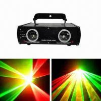 140mW Red/Green Double Head Laser Stage Light, Suitable for Weddings, DJ and Disco Manufactures