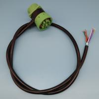 RoHS Deutsch 9 Pin J1939 Cable Pass Through To Open End Cable