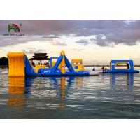 Bright Color Anti UV Inflatable floating obstacle course With 2 Years Warranty Manufactures