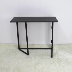 Black MDF KD 860X400X760MM Portable Folding Computer Desk Manufactures