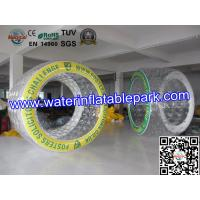Custom Logo  Inflatable Roller Ball  0.8mm TPU 2.7m x 2mD For Pool Manufactures