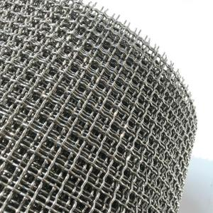 316 Plain Weave 100 Micron Stainless Steel Mesh For Filtration Sieving Industry Manufactures