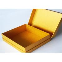 Cheap Yellow Antique Lamination Printed Gift Boxes With lids For Clothes for sale