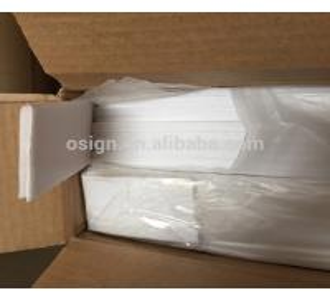 China No Splitting Acrylic On Foam Board , 4*8 Rigid Foam Board Good Thermal Insulation on sale