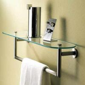 decorative bathroom accessories double towel bar Manufactures
