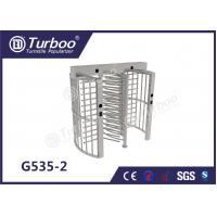 Pedestrian Full Height Turnstile High Revolving Door Running Stably Without Noise Manufactures