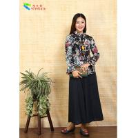 China Short Women Chinese Tang Suit Jacket Clothing Top Coat Cotton Padded on sale