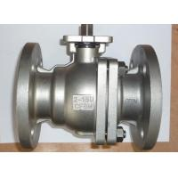 SS ANSI Class 150 Quarter Turn Ball Valve 2 Way ISO 5211 Flange Type
