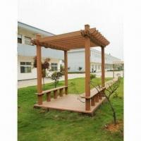 WPC Arbor in Garden, Eco-friendly and Available in Various Colors Manufactures