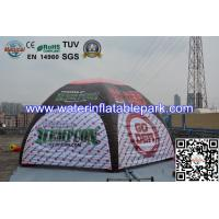 Portable Fire Retardant Inflatable Dome Tent With 4 Legs , CE / UL Blower Manufactures