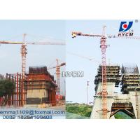 Cheap 10 tons Load TC6518 Builders Crane Tower With Electric Cable And Wire Rope for sale
