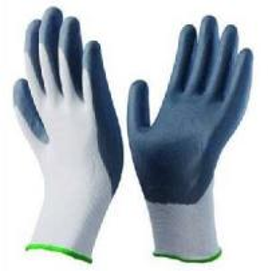 China Foam Nitrile Gloves Coated 13 Gauge Nylon Liner  (GF5004) on sale