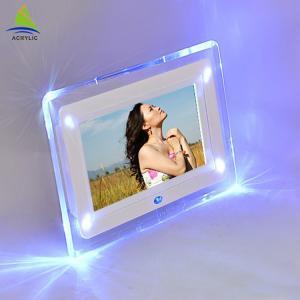 Shop Mini Acrylic Led Frame Acrylic Fashion Design Led Light Photo Frame Manufactures