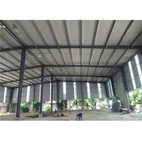 Export to Philippines customize design prefabricated structural steel frame warehouse Manufactures