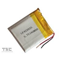 Environmental Polymer Lithium Ion Batteries 3.7V 180MAH GSP422025 Manufactures