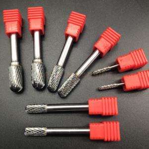 "1/4"" Inch Shank Diameter Tungsten Carbide Ratory Burr CNC Cutter Tools Manufactures"