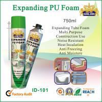 Expanding Tube Pu Foam Spray 750ml For Window And Door Wood Strength