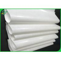 Grade AA 40gsm 50gsm 60gsm+10g PE Coated White Kraft Paper Roll For Packing Manufactures