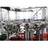 Automated Commercial Carbonated Drink Filling Machine 2000 BPH 380V 2000KG Manufactures