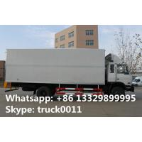 4x2 dongfeng 8 ton to 15 ton refrigerated van, hot sale best price Cummins 170hp dongfeng brand refrigerated truck