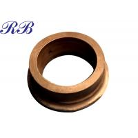 Custom Size Copper Alloy Casting Part Copper Flange ODM / OEM With ISO Certified Manufactures