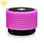 Fashion Sucker Type Custom Silicone Case , Mini Bluetooth Speaker Manufactures