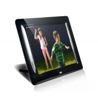 Black HDMI MP3 / WMA 8 Digital Video Photo Frame With Music 350cd/m2