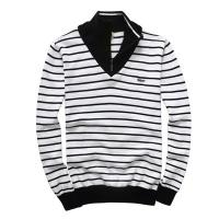 China Lacoste men stripe sweaters with high quality wholesale price on sale