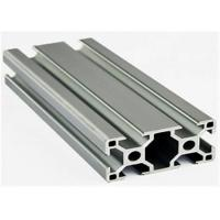 Construction Stock Aluminum Extrusion Profiles , 6005a Extruded Aluminium Channel Manufactures