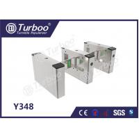 Access Control System Pedestrian Barrier Gate With IC / ID Card Barcode Manufactures