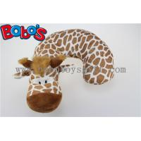 Plush Stuffed Giraffe Neck Support Soft Children Neck Pillow Manufactures