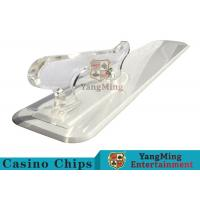 Poker Playing Cards Dedicated Brand Shovel Acrylic Plastic Factory New Custom Shape Manufactures