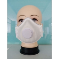 CE FDA 15.5*10.5CM Nonwoven 4 Ply Valved FFP2 Cup Mask Manufactures