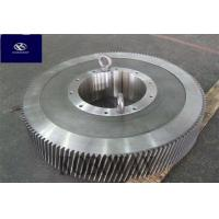 Buy cheap Transmission Gear Steel Forging Parts Adjustable Speed Gear Quenching Treatment from wholesalers