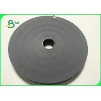 60GSM FDA Eco - Friendly Solid Black Paper In Reel For Drinking Straws Manufactures